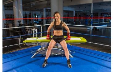 LOJER - References & Brand Ambassador Eva Wahlström WFC Female World Boxing Champion